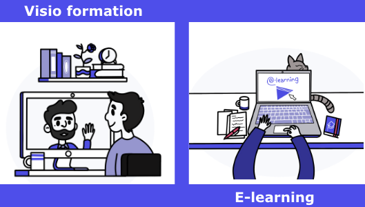 E-learning | Visio | formation | site internet